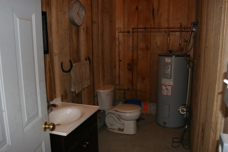 Indoor Heated Washroom