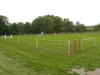 Front grass ring with jumps