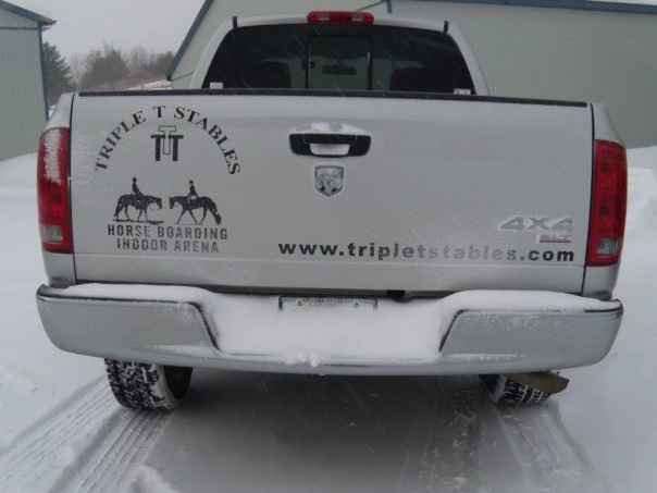 Triple T truck and logo